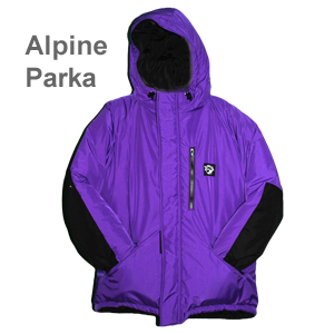 Alpine Design Clothing Website Alpine parka purple